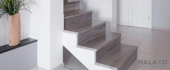 PVC traptreden