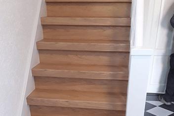 Eikenhout trap voorbeeld