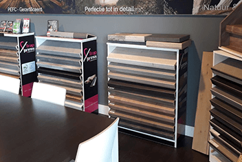 Showroom MALAXO Traprenovaties